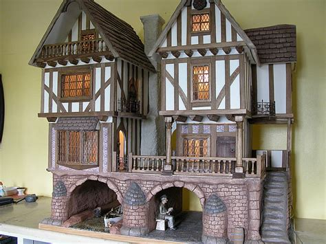 Tudor Dolls Houses And Fantasy Dolls Houses Gerry Welch Manorcraft Dolls Houses