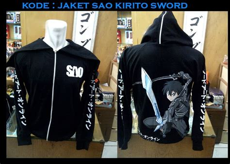 jaket sao kirito sword