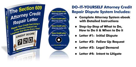 Credit Clean Up Letter Www Attorneycreditrepairletter How To Clean Bad Credit In 20 Days With Simple Attorney Letter