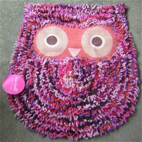 purple owl rug owl rug mat owl bath mat childrens bedroom rug shaggy owl multi colour ebay