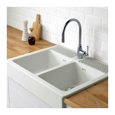 ikea double sink ikea double white sink ceramic kitchen domsjo for sale in