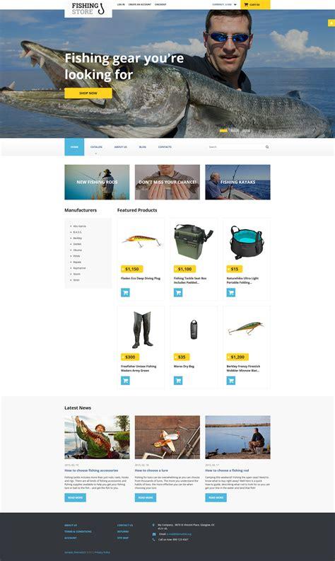 fishing responsive virtuemart template 58215