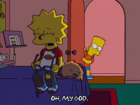 sad bart simpson gif find & share on giphy