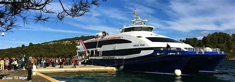 fast boat dubrovnik korcula getting to mljet island