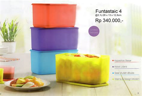 Tupperware Funtastic 4 funtastic 4 tupperware katalog promo terbaru tupperware