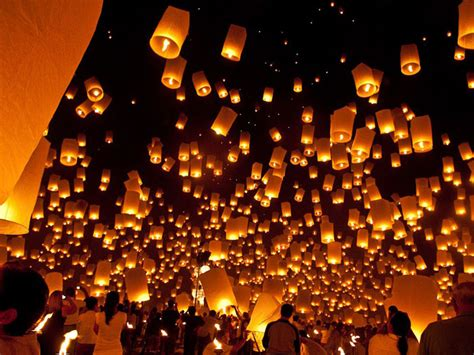 candele volanti lanterne cinesi volanti