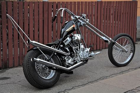Motorrad Chopper Harley Davidson by Harley Panhead Chopper Choppers Harley