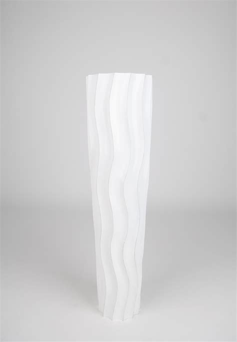 floor vase 75 cm mango wood white ebay