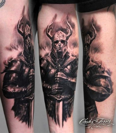tattoo back knight knight tattoo ideas and meanings