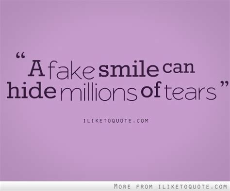 i have a fake smile quotes