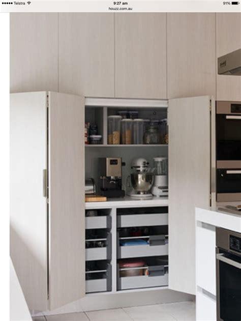 kitchen appliance storage cabinet best 25 kitchen appliance storage ideas on