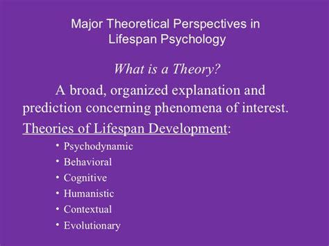 Lifespan Psychology Lifespan Psychology Power Point Lecture Chapter 1 Module 1 1