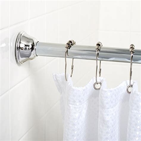72 inch shower curtain rod zenna home 771ss tension bathroom shower curtain rod 44