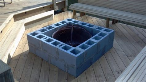 diy pit cinder block cinder block pit diy pit ideas for your backyard