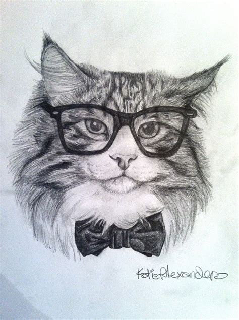 hipster tumblr oh lindo pinterest kitty cats hipster cat drawings tumblr www pixshark com images
