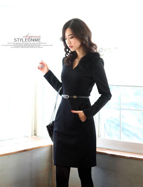 Dress Korea Black Import Ds3529 dress import merah cantik model terbaru jual murah import