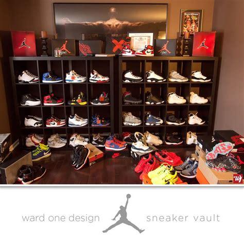 Michael Shoe Closet by Ward 1 Sneaker Vault Sneakerhead Kicks Collection Nike