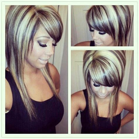 styles of hair that are chunked 17 best images about hair styles on pinterest scene hair