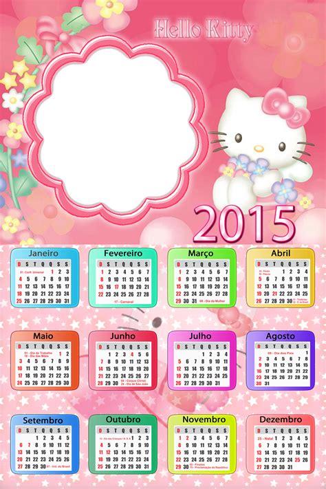 Calendario P A N 2015 O Mundo Colorido Calend 225 Rios Animados 2015