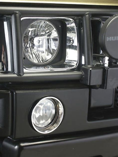 hummer h2 driving lights pirate mfg h20020sc 03 10 h2 hummer suv sut chrome