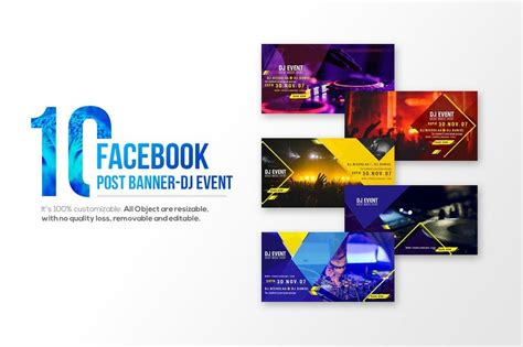 design event banner 20 best facebook cover post mockups design shack