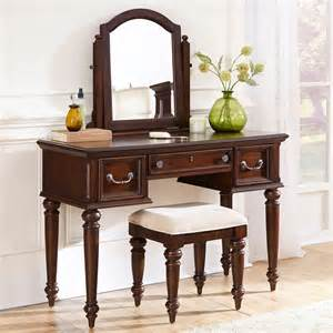 Bedroom Vanity Mirrors Home Styles Colonial Classic 3 Drawer Vanity And Mirror