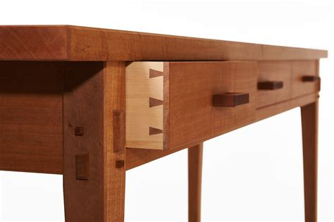 Shop Made Drawer Pulls by Swiss Pear Console Mokuchi Gt Gt