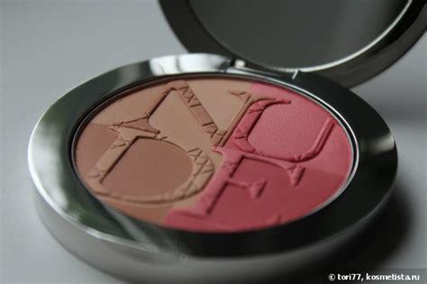 Silkygirl Shimmer Duo Blusher 04 Glow diorskin paradise duo iridescent blush bronzing powder with kabuki brush 001