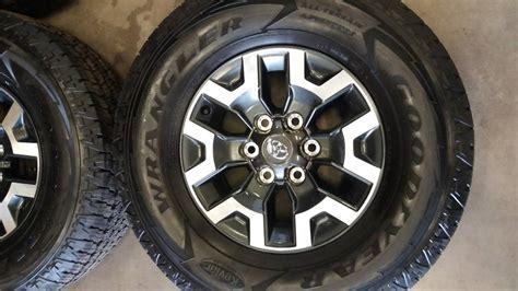 Toyota Tires Toyota Tacoma Trd Road Wheels Tires Ebay
