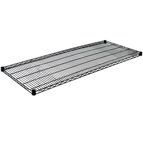 wire shelves home depot hdx 36 in x 14 in 4 tier matte black wire shelf eh wsthdus 004mb the home depot