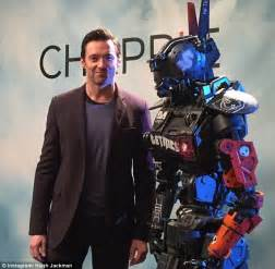film robot avec hugh jackman morning chappie earlier this week the 46 year old took