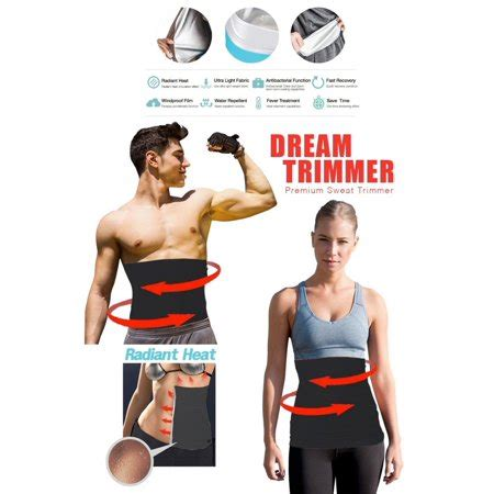 waist trimmer belly cellulite burner with silver anti bacterial coating shaper