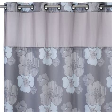 grey and blue shower curtain buy blue and grey shower curtains from bed bath beyond