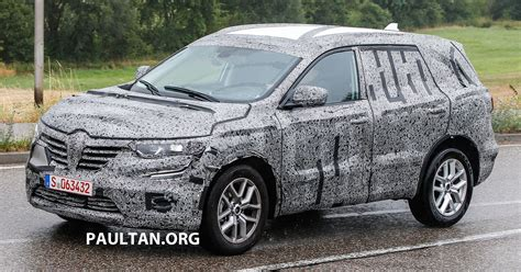 koleos renault 2015 spied 2016 renault koleos germancarforum