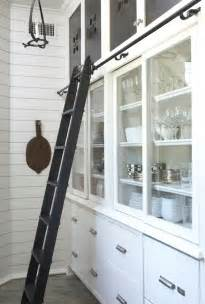 Kitchen Ladder by Sliding Pantry Doors Design Ideas