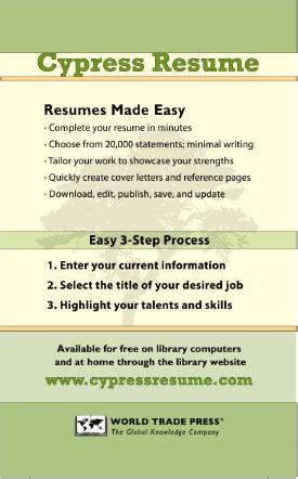 Cypress Resume by Cypress Resume
