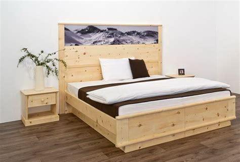 schlafzimmer zirbe modern schlafzimmer zirbe