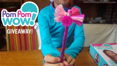 Create Giveaway - create moments together pom pom wow giveaway