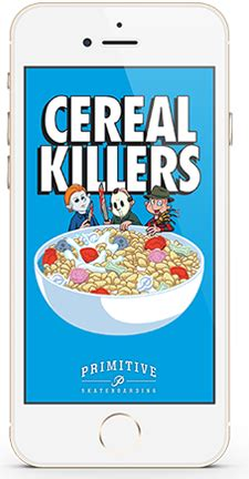 Tr3s Cereal Killer Cereal Killer pics for gt primitive apparel wallpaper