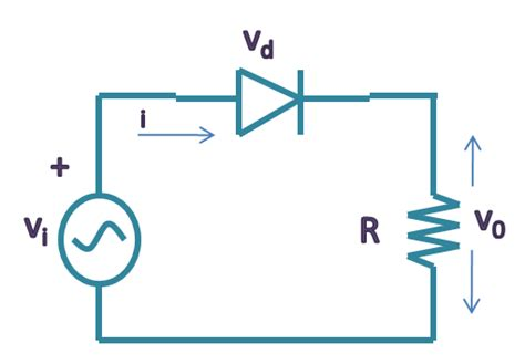 diode on circuit electrical engineering diode circuits