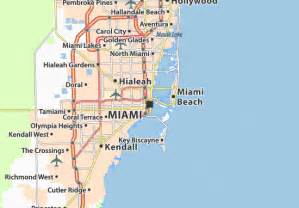 us map miami map of miami michelin miami map viamichelin