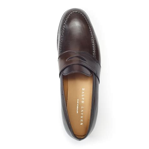 ralph marlow loafer lyst ralph marlow loafer in brown for