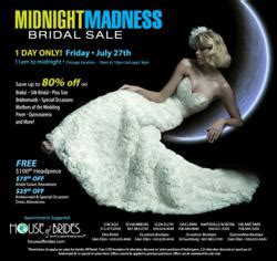 house of brides glen ellyn house of brides prepares their salons for highest turnout for midnight madness bridal sale