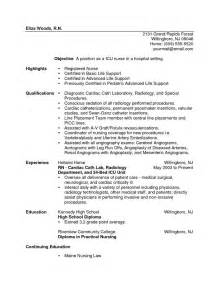 sle new resume sle resume nurses nursing resume sle writing guide