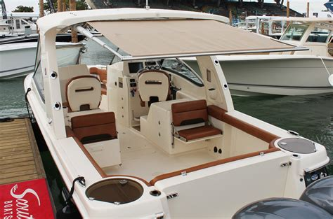 boat t top canvas replacement miami sureshade debuts first oem installs of rtx and m3 shades
