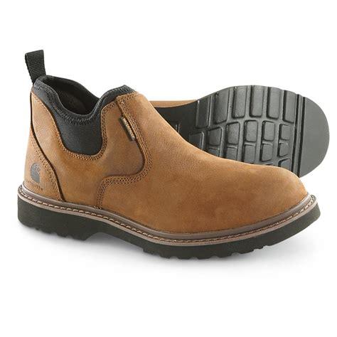 carhartt romeo boots carhartt s waterproof oxford romeo work boots 641848