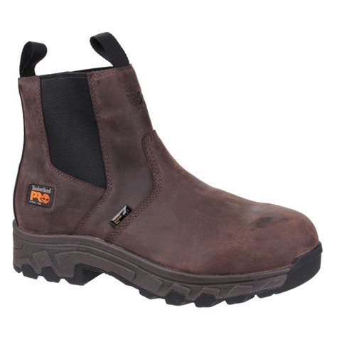 Timberland Pro Leather timberland pro brown leather mens workstead safety dealer