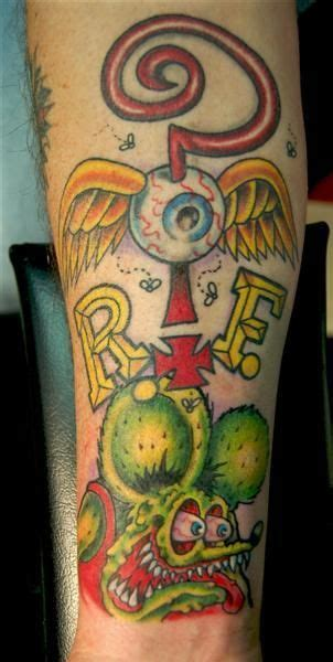 lucky draw tattoo az rat fink ed roth rat