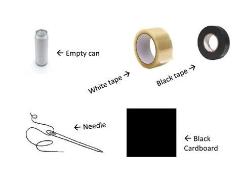make pinhole how to make pinhole