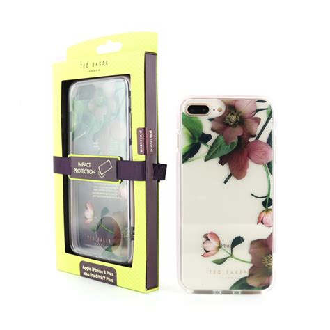 ted baker arboretum anti shock case  iphone     clear  proporta